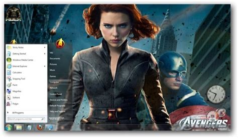 theme for windows 7 avengers the avengers theme for windows 7