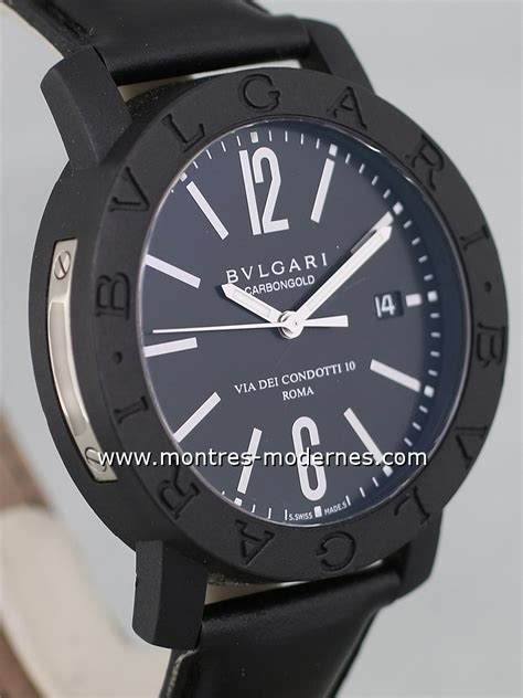Bvlgari Carbongold montre bulgari chrono carbon gold