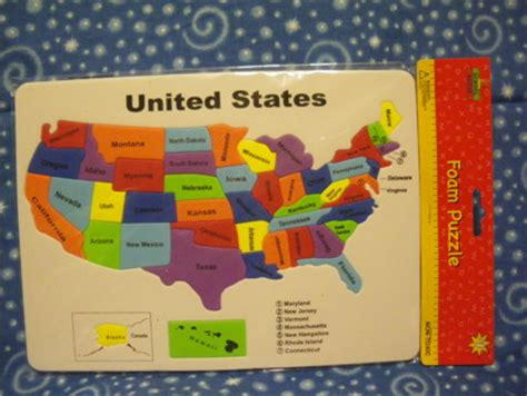 usa map floor puzzle foam free new united states foam map puzzle other toys