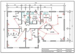 floor plan with electrical layout resources