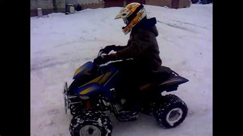 motorcycle hits deer 85 mph helmet cam zima 2012 quad kinroad 200cc youtube