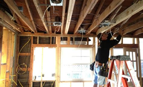 updating wiring in an house home improvement ppn