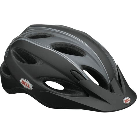 fahrradhelm schwarz matt bell piston herren radsport fahrradhelm helm matt schwarz