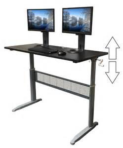 Transcendesk Sit Stand Desk Review Exercise At The Desk
