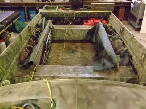 duck boat enclosed decoy storage for boats duck boat pinterest duck boat