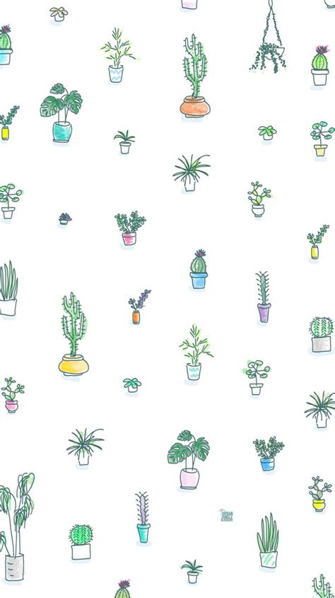 wallpaper for iphone cactus greengift patterns cactus and iphone wallpapers