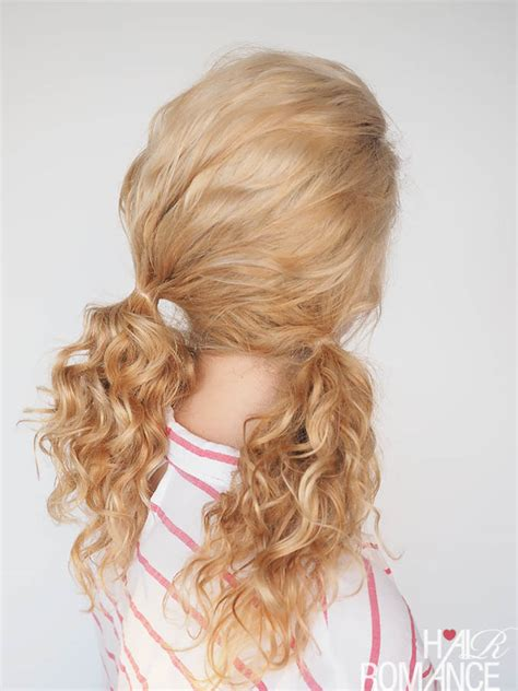 easy curled hairstyles 30 curly hairstyles in 30 days day 14 hair