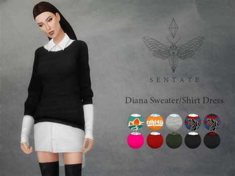 oversized sweater sims 4 cc the sims resource diana sweater sims 4 downloads sims