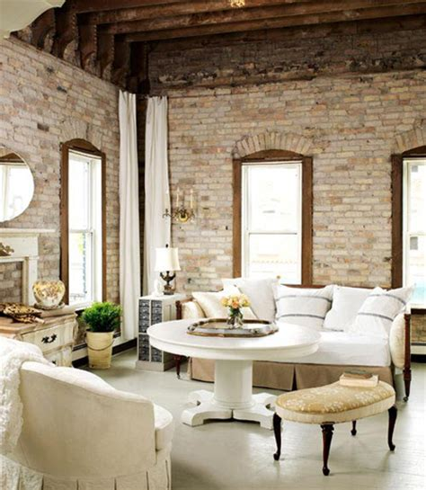 Decorating Ideas Exposed Brick Exposed Brick 10 Great Spaces The Decorating Files