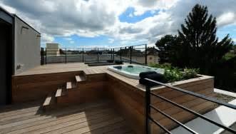 spa en bois exterieur bois exterieur pour terrasse mzaol