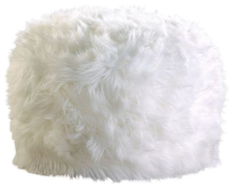 fuzzy white ottoman fuzzy white ottoman pouf eclectic floor pillows and