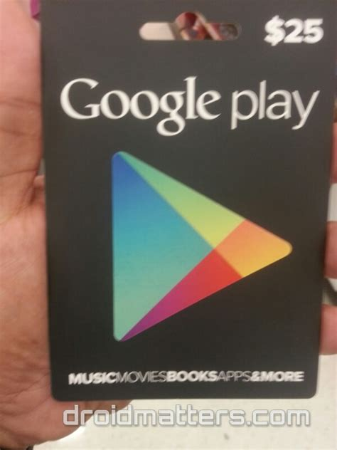 Google Play Gift Card On Sale - google play gift cards on sale at target here s how you can find one droid matters