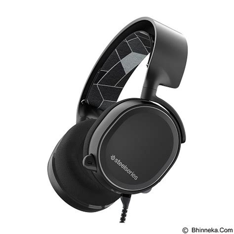 Jual Headset Steelseries Murah jual gaming headset steelseries arctis 3 black merchant