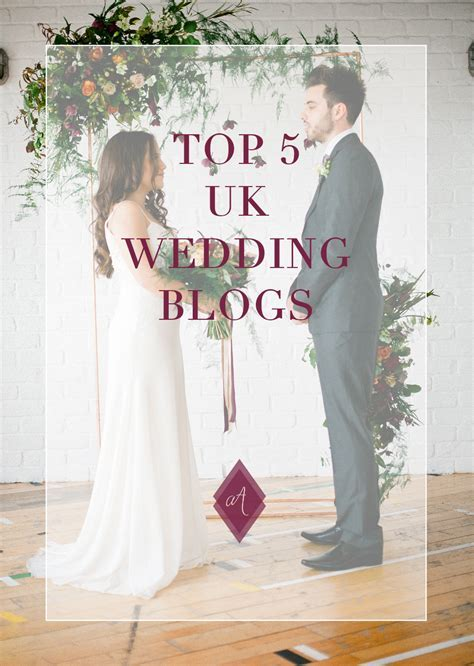 Top 5 UK wedding blogs