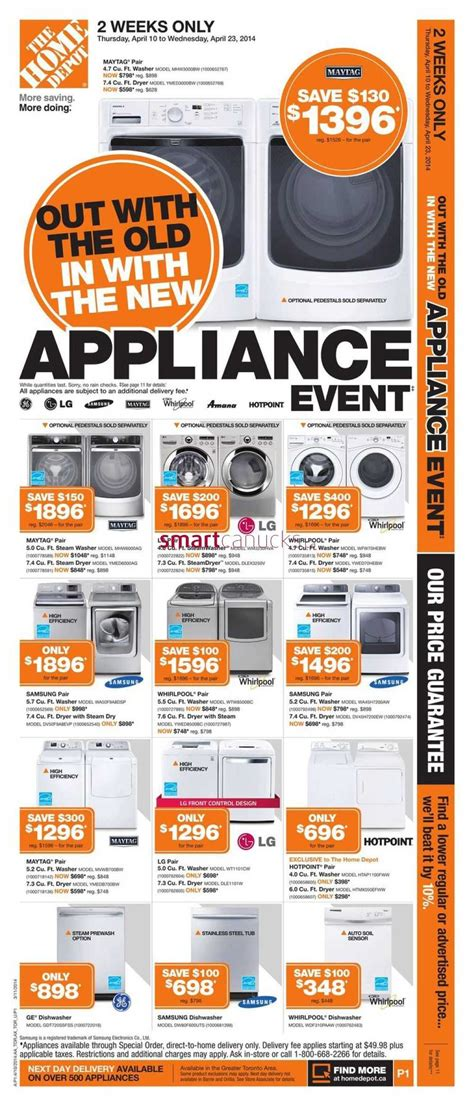 home depot 10 home depot on flyer april 10 to 16