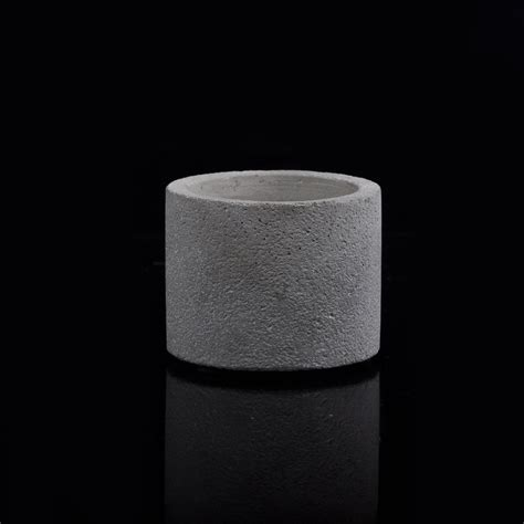 Cylinder Candle Holders by Cylinder Concrete Candle Jar Candle Holders On Okcandle