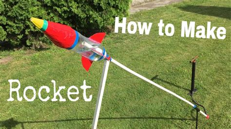 How To Make A 3d Rocket Out Of Paper - how to make an airsoft rocket out of plastic bottle water