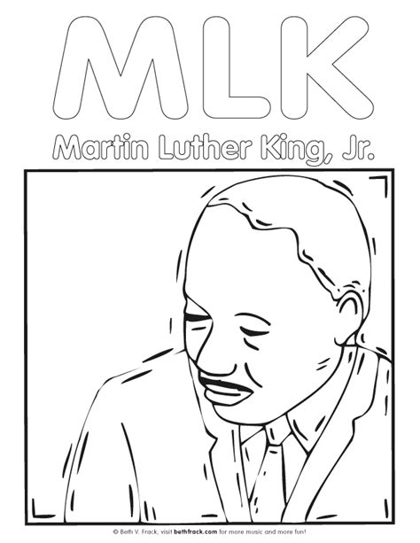 Martin Luther King Coloring Page Az Coloring Pages Dr Martin Luther King Coloring Page