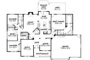 Ranch Floorplans Ranch House Plans Pleasanton 30 545 Associated Designs