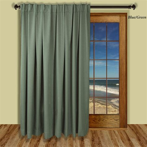 patio curtain panel grand pointe room darkening thermal patio panel