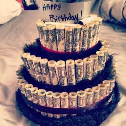 Great birthday gifts for him or anyone money cake this took 110