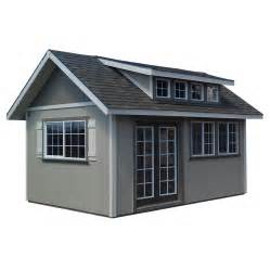 The White Barn Prospect Wooden Sheds At Lowes Furniture Plans Software