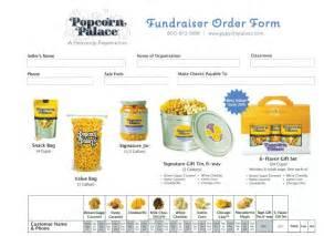 popcorn fundraiser flyer
