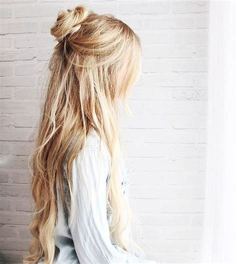 casual hairstyles tied up pretty hair tumblr image 4171544 by tschissl on favim com