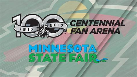 nhl centennial fan arena nhl centennial fan arena to visit minnesota state fair