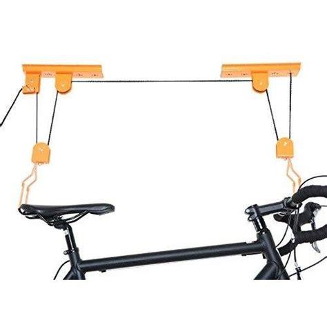 Bike Rack Pulley System by Indoor Bike Storage Bike Lift And Car Racks On