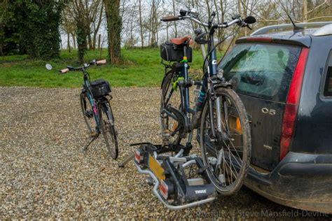 Second Thule Bike Rack by Review Thule Europower 916 Bike Carrier Bocage Biking