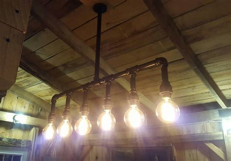 unique diy farmhouse overhead kitchen lights industrial lighting rustic kitchen island ceiling light