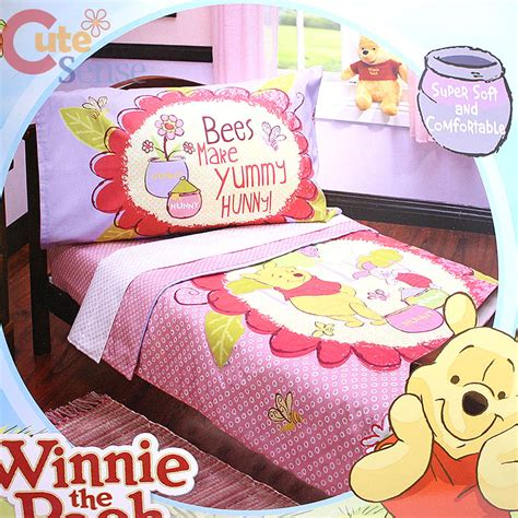 winnie the pooh toddler bedding winnie the pooh friends toddler bedding comforter set