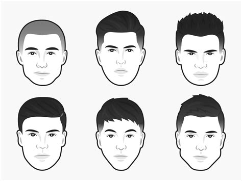 determine your face shape online men hairstyle for my face shape male hairstyles