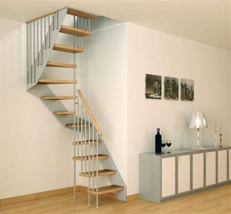 Stairs For Small Spaces Small Space Stairs On