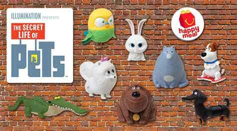 Happy Meal Mcdonald The Secret Of Pets mcdonald s happy meal featuring the secret of pets ednything
