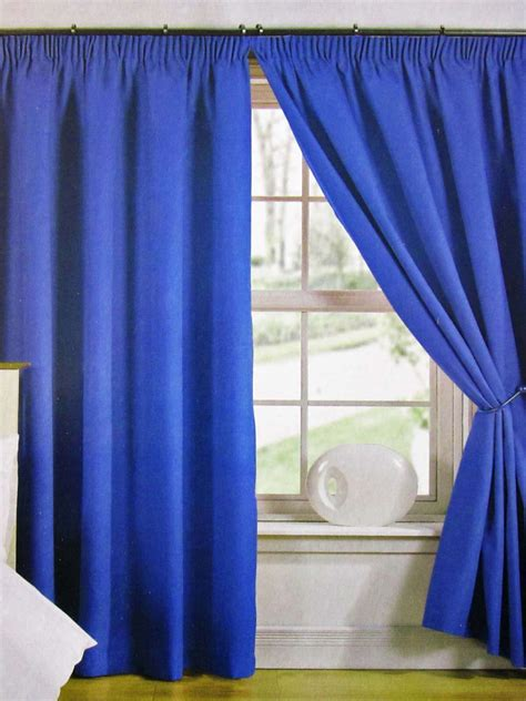 5 Styles Of Blue Blackout Curtains
