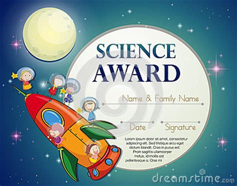 science award stock vector image 52778511