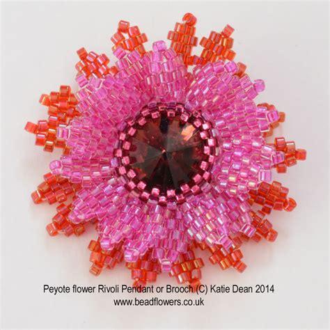 beaded flower patterns peyote stitch flower pattern beadwork by dean