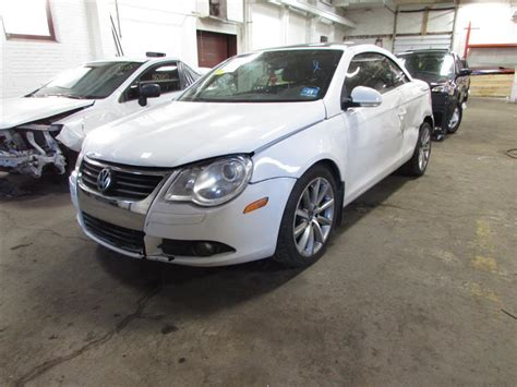 volkswagen parts parting out 2007 volkswagen eos stock 170022 tom s