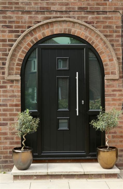 Arched Composite Front Doors Composite Doors Designs Materials Advantages And Benefits