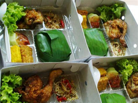 lucky catering nasi timbel nasi box lunch box