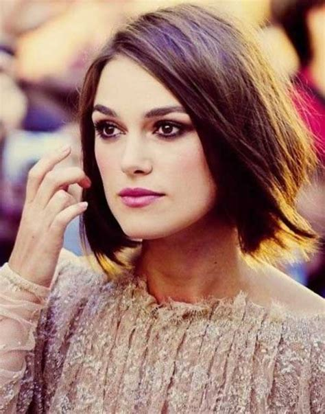 bob hairstyles for fine hair 2015 15 keira knightley bob haircuts short hairstyles 2017