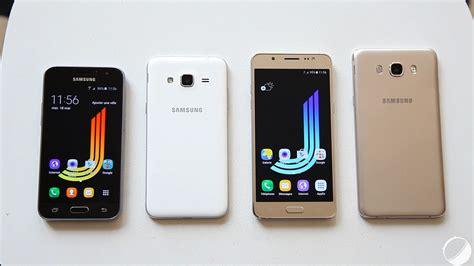 Samsung A3 Vs J2 prise en des samsung galaxy j1 j3 j5 et j7 2016