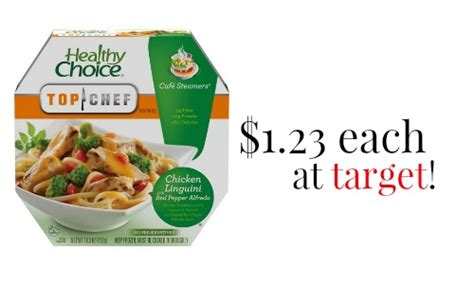 healthy food printable coupons healthy choice coupon cafe steamers 1 23 each at