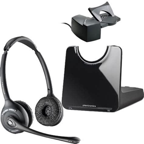 plantronics cs520 binaural wireless headset with handset