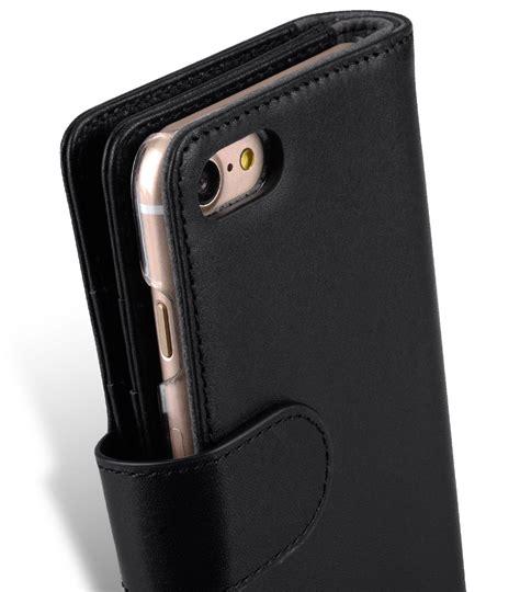 Leather Iphone 6 Fe458gflbkp6bl Book Type Black melkco premium leather for apple iphone 7 8 4 7 quot wallet plus book type black
