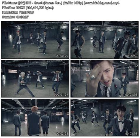 download mp3 exo growl download mv exo growl korean ver melon hd 1080p