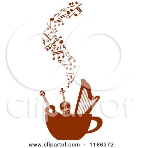 coffe house music royalty free rf coffee house music clipart illustrations vector graphics 1