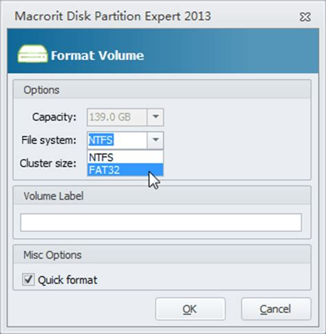 format fat32 how to format hard drive to fat32 file system up to 2tb